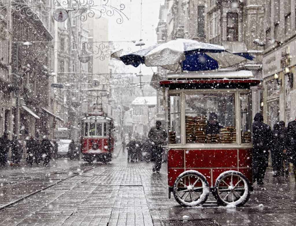 شتاء اسطنبول